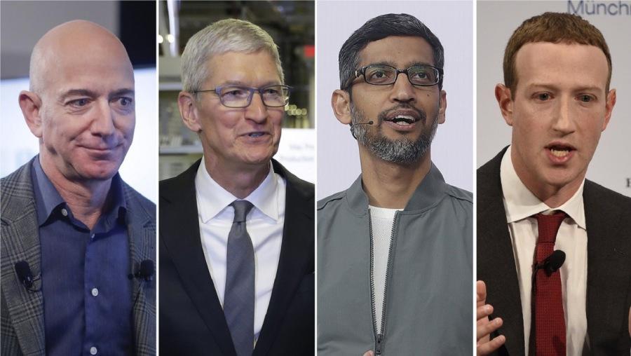 Facebook, Google, Amazon y Apple declaran ante el Congreso estadounidense por posibles conductas monopolísticas