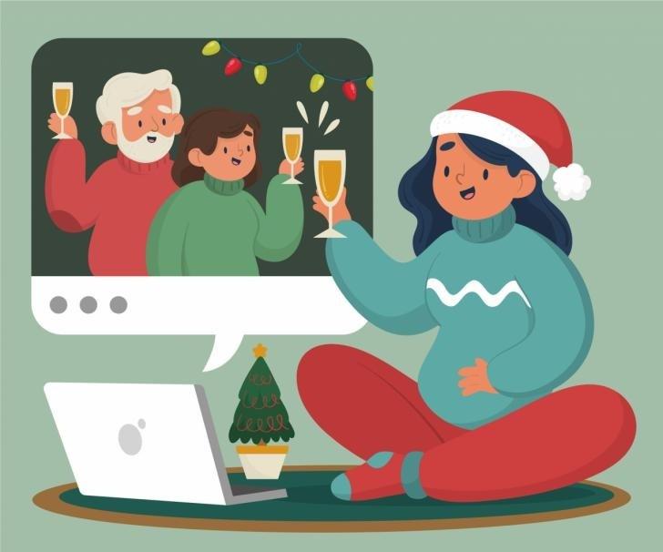 Reportaje: Navidad por Zoom