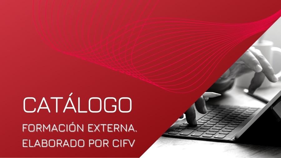 Catálogo: Formación externa OnlineCATALOGO e gs =  FORMACION EXTERNA. ra = _