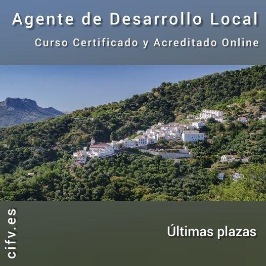 📚 CURSO INTERNACIONAL ONLINE CERTIFICADO Y ACREDITADO: AGENTE DE DESARROLLO LOCAL. 📇 Comienzo : 15/10/2020 ➡️ Plazas: 2rrolio Local  cado y Acreditado Online     Id  @ _  ~ Ultimas plazas =  [8]
