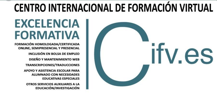Te resumimos algunos de los proyectos, estudios y cursos/seminarios/workshops homologados, certificados y acreditados en los que el Centro Internacional de Formación Virtual. Empresa de Base Tecnológica (Spin-Off) de la Universidad de Huelva colabora, coordina u organiza:CENTRO INTERNACIONAL DE FORMACION VIRTUAL  EXCELENCIA FORMATIVA ( x = | Ifv.es