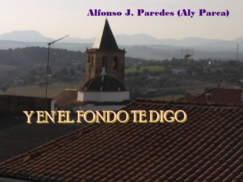 Alfonso J. Paredes (Aly Parca)     Y ENELFONDOTEDIGO