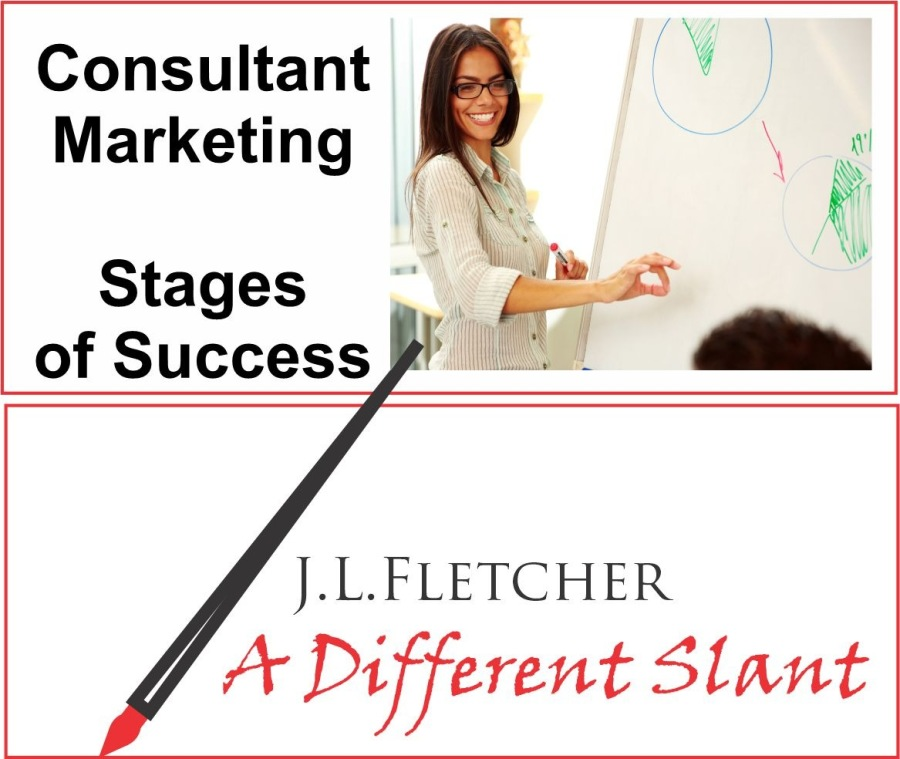 Consultant Marketing Stages of SuccessConsultant  Marketing Ȣ Stages of Success       J.L.LFLETCHER  A Different Slant