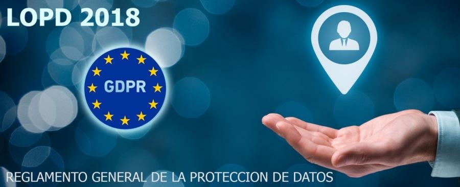 'REGLAMENTO GENERALE LA PROTECCION DE DATOS EE r=