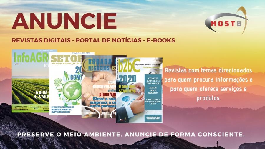 ANUNCIE )  REVISTAS DIGITAIS - PORTAL DE NOTICIAS - E-BOOKS     PRESERVE O MEIO IBIENTE. ANU . CONSCIENTE.