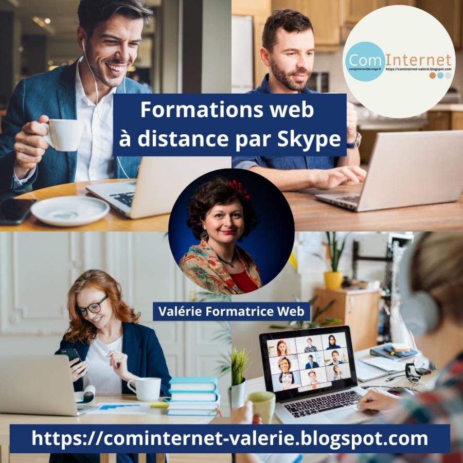 Formations web a distance par Skype ¥