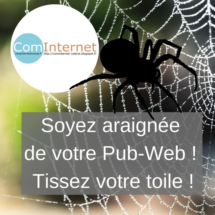https://cominternet-valerie.blogspot.comSY saines de votre Pub-Web ! - Tissez A SPACE P  a Pa TE 10 >