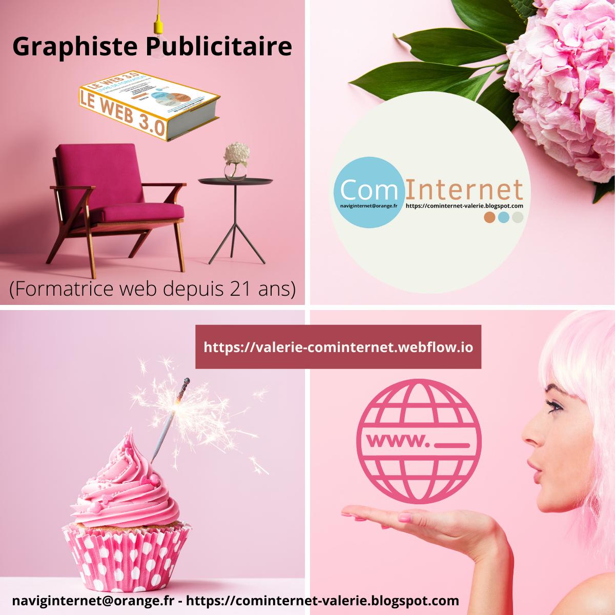 l Graphiste Publicitaire  Sa          naviginternet@orange.fr - https://cominternet-valerie.blogspot.com