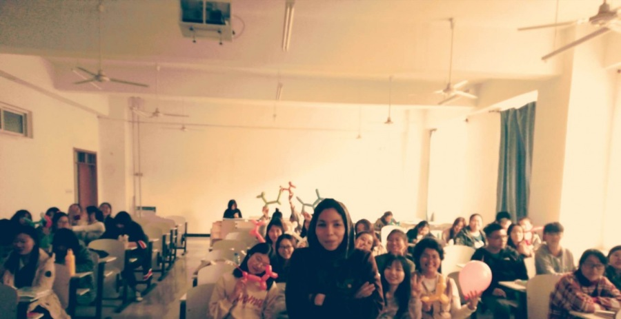 A.) What I Taught My Chinese English Majors (Lyon Amor Brave)