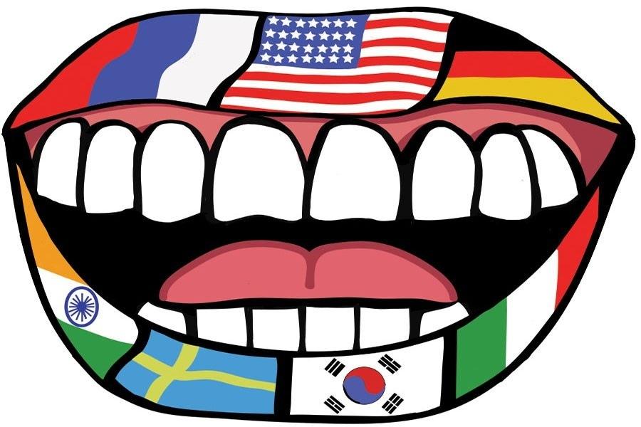 BILINGUAL PEOPLE WILL RULE THE WORLD: Bonjour-Xin Chào- HaloRo  p= [= —