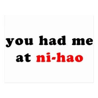 FIRST NIGHT IN CHINA - YOU HAD ME AT NI-HAOyou had me at ni-hao