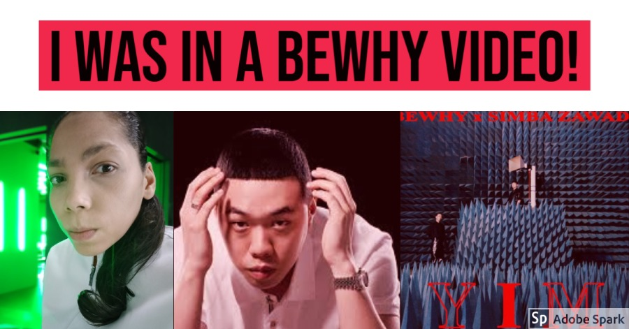 I WAS IN A BEWHY MUSIC VIDEO (LYON AMOR BRAVE AKA LAB)