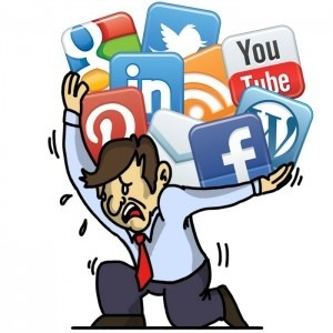 Is Social Media A Waste of TimeO Revue 10 Tet c  1° can BE -  8 recaner 4  / -~y 4  D =