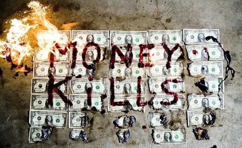 KILLING YOURSELF OVER MONEY HONEY