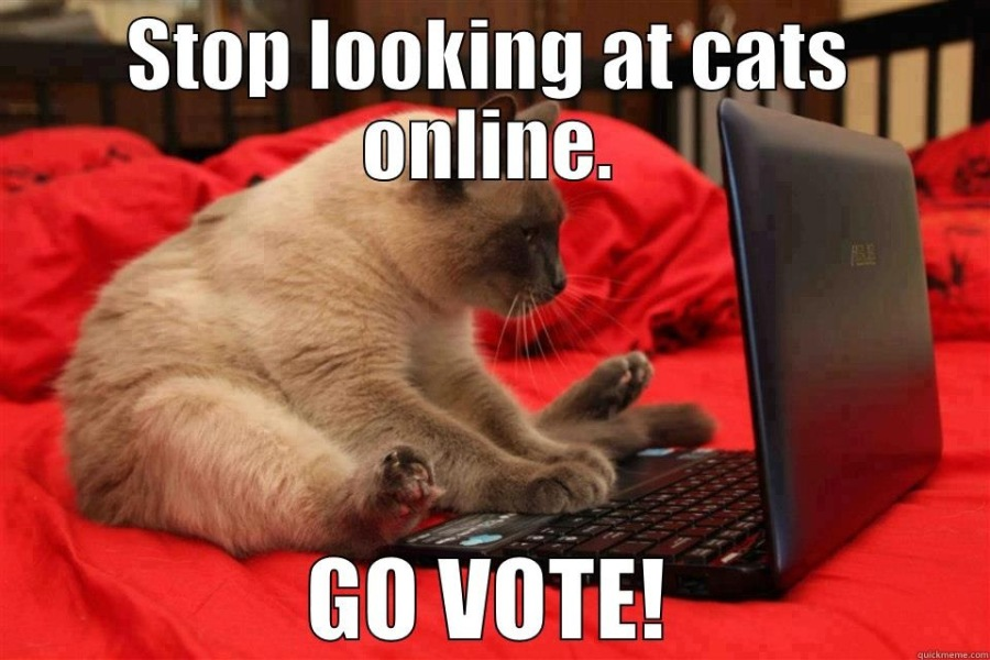 iE) — IT'S IMPORTANT TO VOTE. IT DOES MATTER.