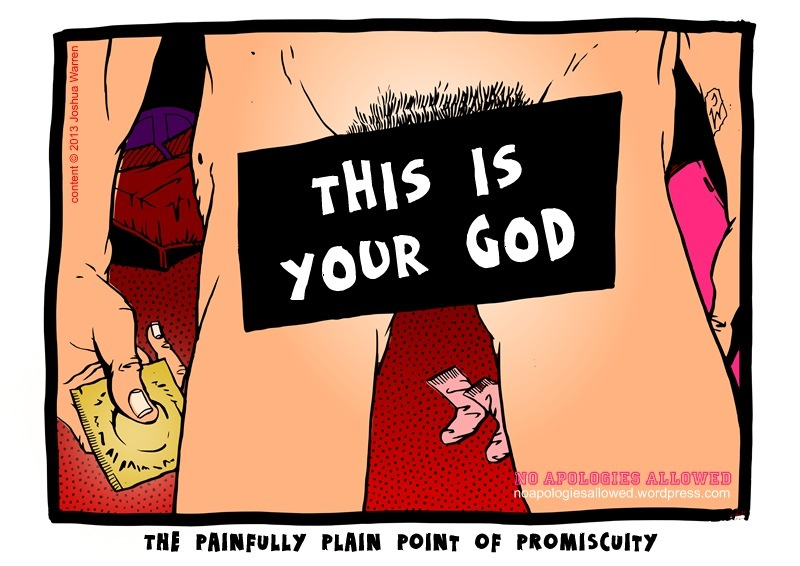 The Hazards of Promiscuity: Are You Intertwined Sexually With An Unworthy Partner ?THE PAINFULLY PLAIN POINT OF PROMISCuITY
