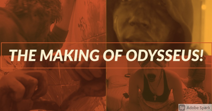 THE MAKING OF ODYSSEUS AN INDIE MUSIC VIDEO!THE MAKING OF ODYSSEUS!