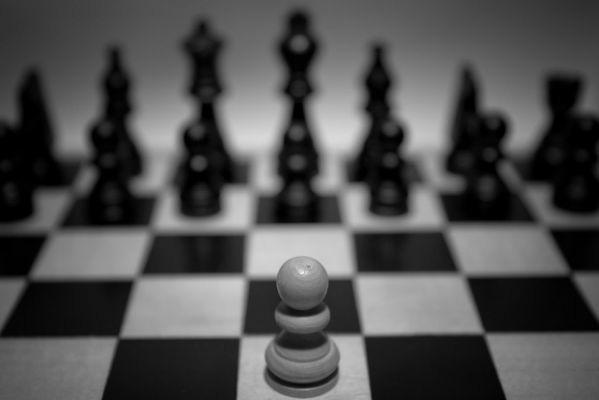 The Odds Are Against You: Need HelpWhen the odds are stacked against you, the only way to win is to be different. You have to go  against the rules that  everyone is following,  particularly if the rules are dishonest.  8a Macsnsds