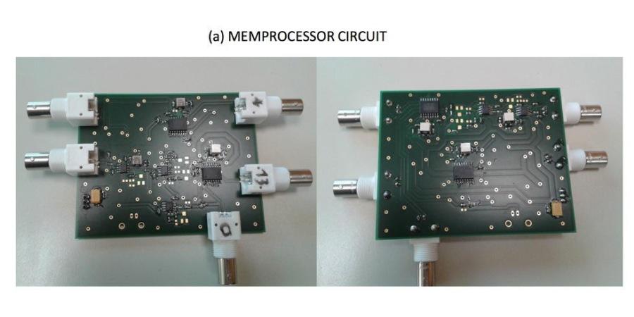 (a) MEMPROCESSOR CIRCUIT