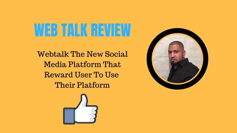 WEBTALK IS IN BETA MODE: GET EXCLUSIVE ACCESS NOW!Webtalk The New Social Media Platform That Reward User To Use  Their Platform
