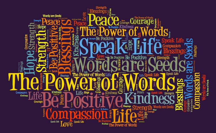 WORDS ARE THE SOURCE OF OUR LIMITATIONS AND FREEDOMS- Excerpt from Transforming the Victim by LABFd  £2  ~JOYCE MEYER