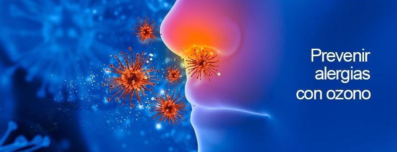 ¿Cómo eliminar ácaros, el polen y aire contaminado con el ozono?SCV alle alergias  con 0zono
