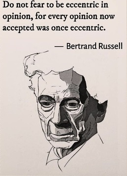 """""""Advocates of capitalism are very apt to appeal to the sacred principles of liberty, which are embodied in one maxim: The fortunate must not be restrained in the exercise of tyranny over the unfortunate.""""          - Bertrand Russell"""