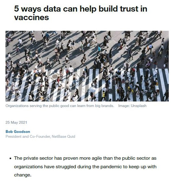 """The full analysis, How to Build Trust in Vaccines: Understanding the drivers of vaccine confidence. is available here. The five key insights revealed are:  1. Talk about the """"protection"""" provided by the vaccine. That keyword has significantly more resonance and power than any other.  2. Avoid labelling. or an implication that there is a moral obligation on people to be vaccinated.  3. Keep messages simple. emphasizing gratitude. and flag relatable examples, rather than celebrities or politicians.  4. Seek to understand why people have low confidence and treat those concerns with empathy, not judgement.  5. Focus on the clearest benefit of vaccination: protection for communities from hospitalization and death because of COVID-19."""