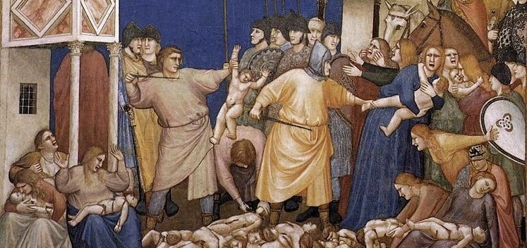 The Slaughter of The Innocents?b NY) VER) NJ V4  (NPY) 22  NO ONE IS MORE HATED THAN HE WHO SPEAKS  THE TRUTH