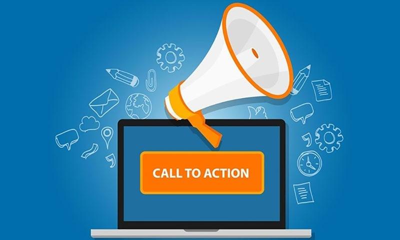 Por qué diseñar botones con llamadas a la acción