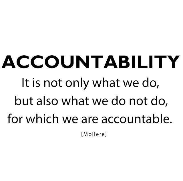 Accountability Drives Effective Leadership