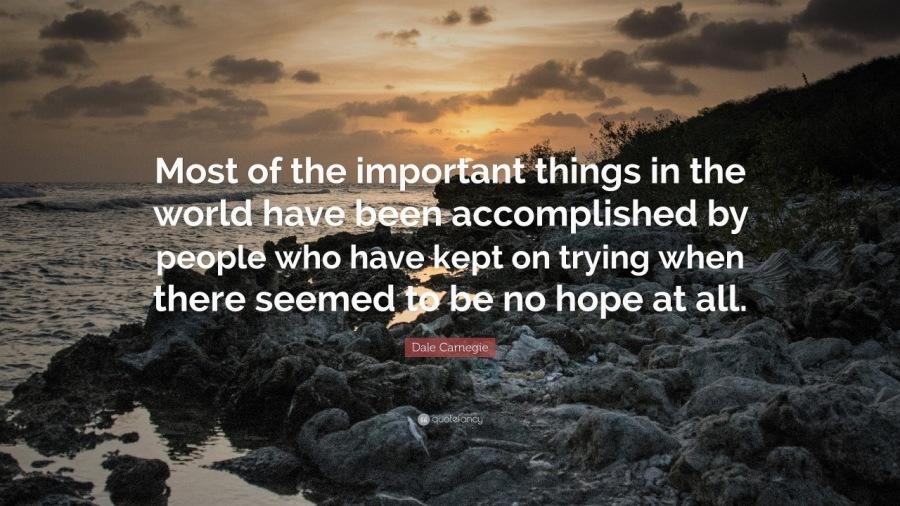 Perseverance Is an Essential Trait of Great Leadershipac au ix SECU ES by