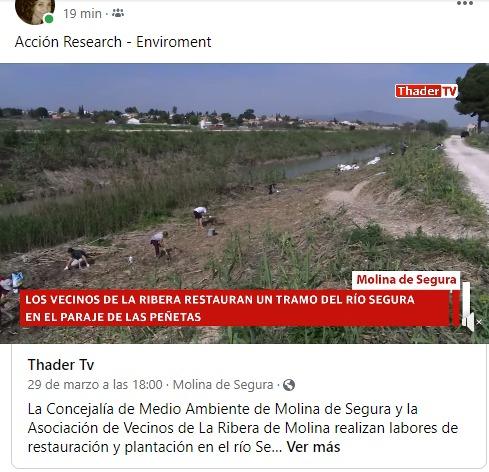 """Proyecto """"Río en La Ribera"""""""