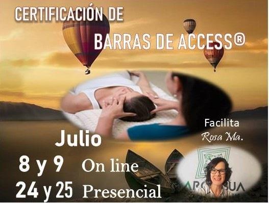 CERTIFICACIÓN DE BARRAS DE ACCESS®Facilita EIR     24y25 Presencial