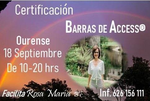 CERTIFICACIÓN INTERNACIONAL DE BARRAS DE ACCESS®