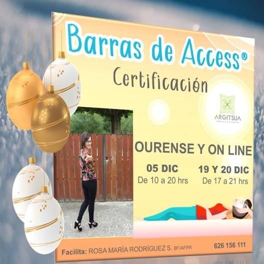 Últimas Certificaciones de Barras de Access® de este interesante año 2020Certificacign  OURENSE Y ON LINES  05 DIC 19 Y 20 DIC De10a20hes De t7a2t tvs