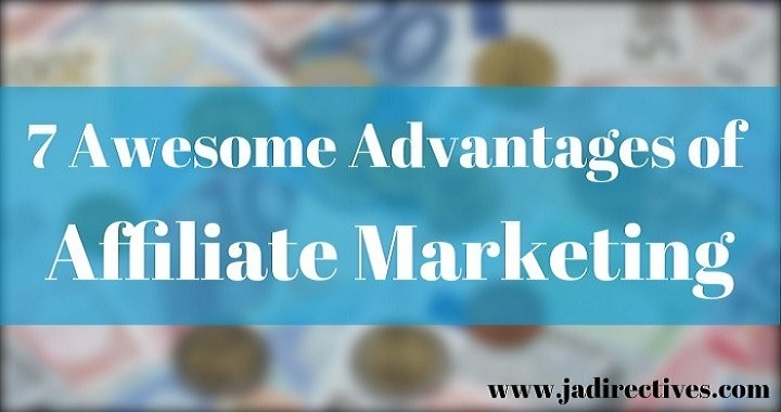Le 7 Awesome Advantages of Affiliate Marketing  . Bee