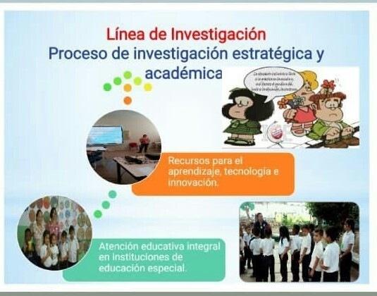 Linea de Investigacion Proceso de investigacion estratégica y académica =