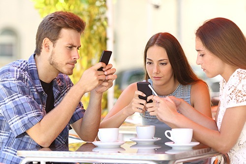 Social Media, H2H relationships and the smartphone