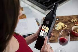 """La botella de vino inteligente , Kuvée """"smart"""""""