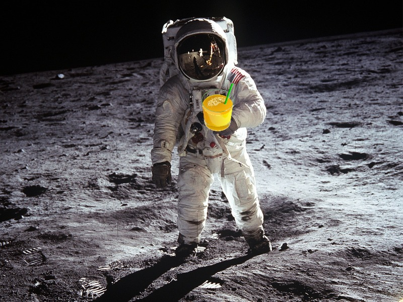 Tang in Space: Unlock Response with A Simple Marketing Rule