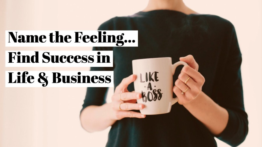 Name the Feeling... Find Successin Life § Business