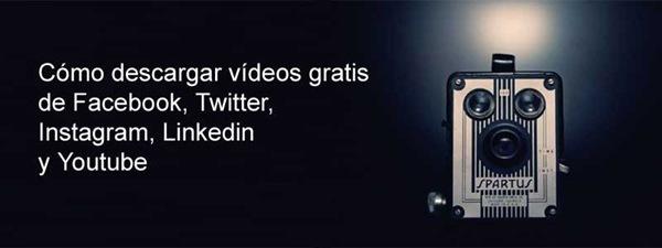 Como descargar videos gratis de Facebook, Twitter, Instagram, Linkedin PAINT