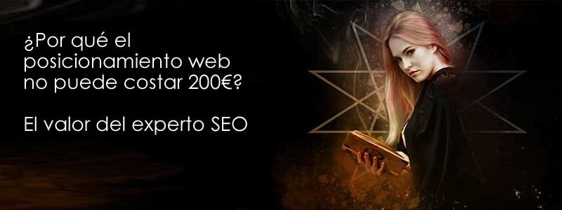 sPor qué el posicionamiento web no puede costar 200€2  El valor del experto SEO