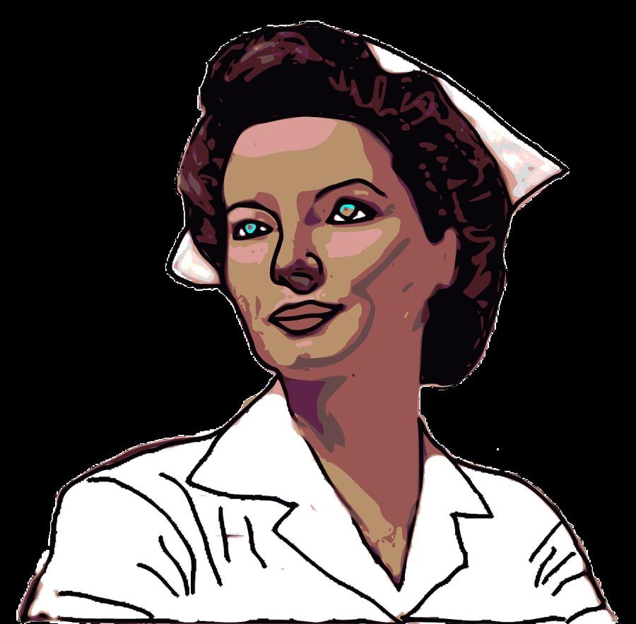En español hablaba la primera enfermera de ayuda internacional