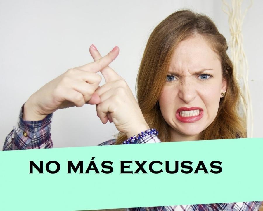 "NO MAS EXCUSAS  ""WV ANRNREZ SE"