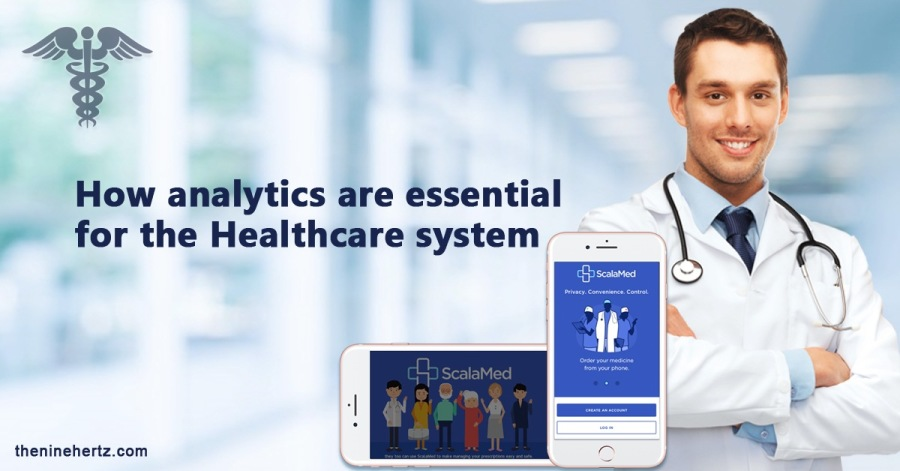 How analytics are essential for the Healthcare system  theninehertz com