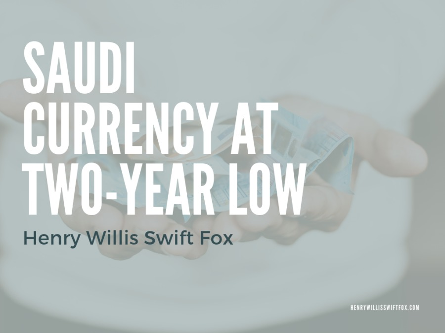 Saudi Currency at Two-Year LowJ RUA EA TWO-YEAR LOW