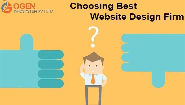 Choosing Best Website Design Firm