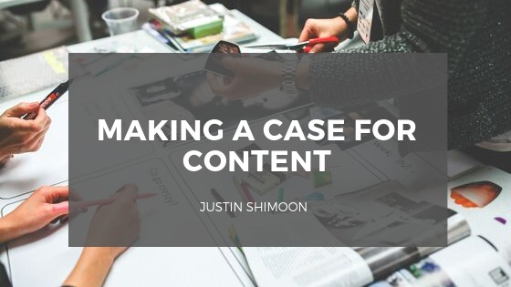 >        MAKING A CASE FOR CONTENT  EVEN RITE